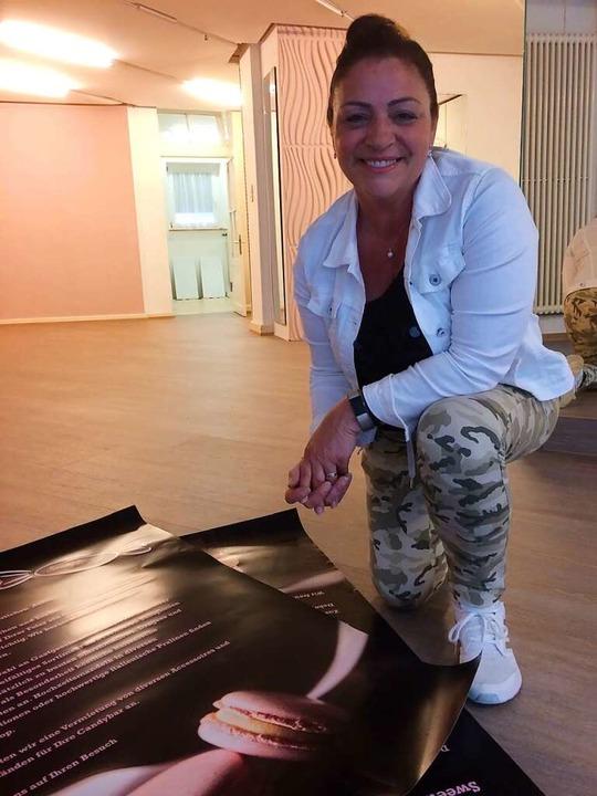 Noch renoviert Enza Caputo die Räume d...em künftigen Angebot ihres Ladens auf.  | Foto: Annemarie Rösch