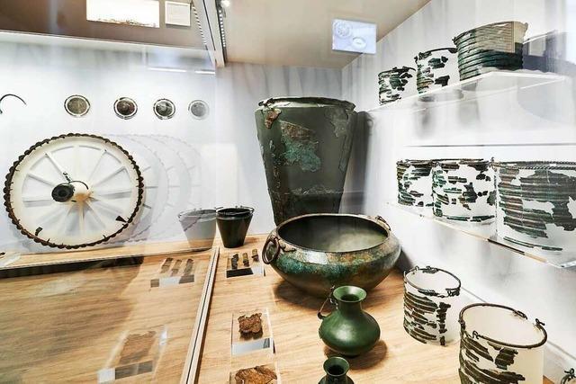 Das Keltengrab aus dem Freiburger Colombischlössle geht auf Wanderschaft