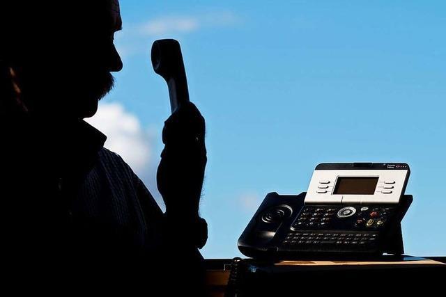 Telefonbetrüger beißen in Schopfheim auf Granit