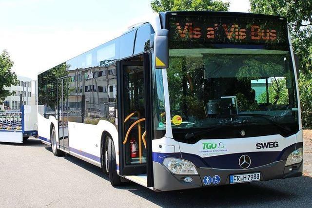 Der Vis-à-Vis-Bus startet in die neue Saison