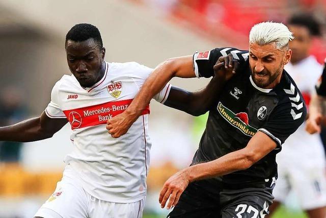 VfB-Stürmer Silas Wamangituka spielte unter falschem Namen