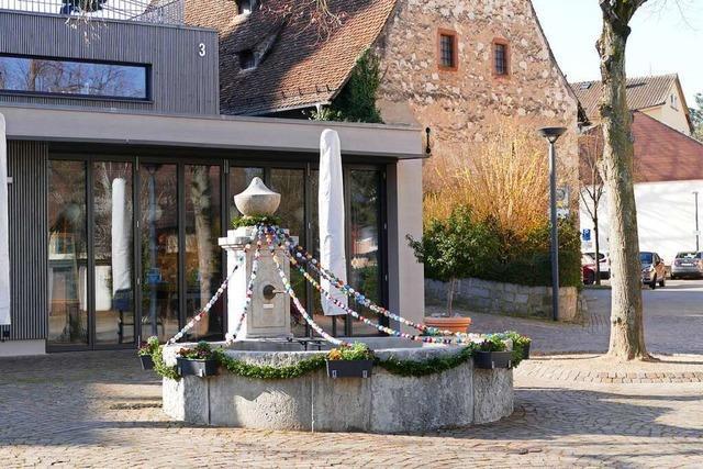 Das Café am Rathaus in Binzen hat wieder geöffnet