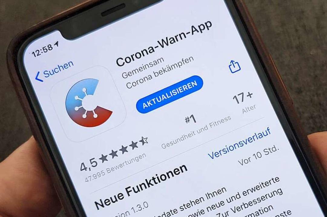 Die Corona-Warn-App ist aktualisiert worden.    Foto: Christoph Dernbach (dpa)