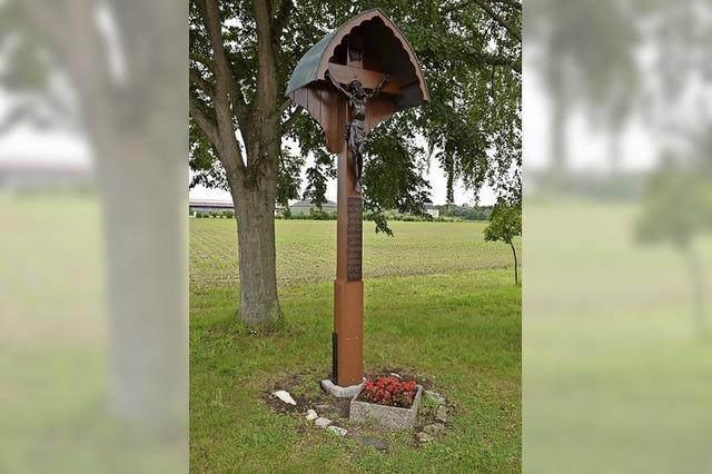 Einsatz für Kleindenkmal im Ort