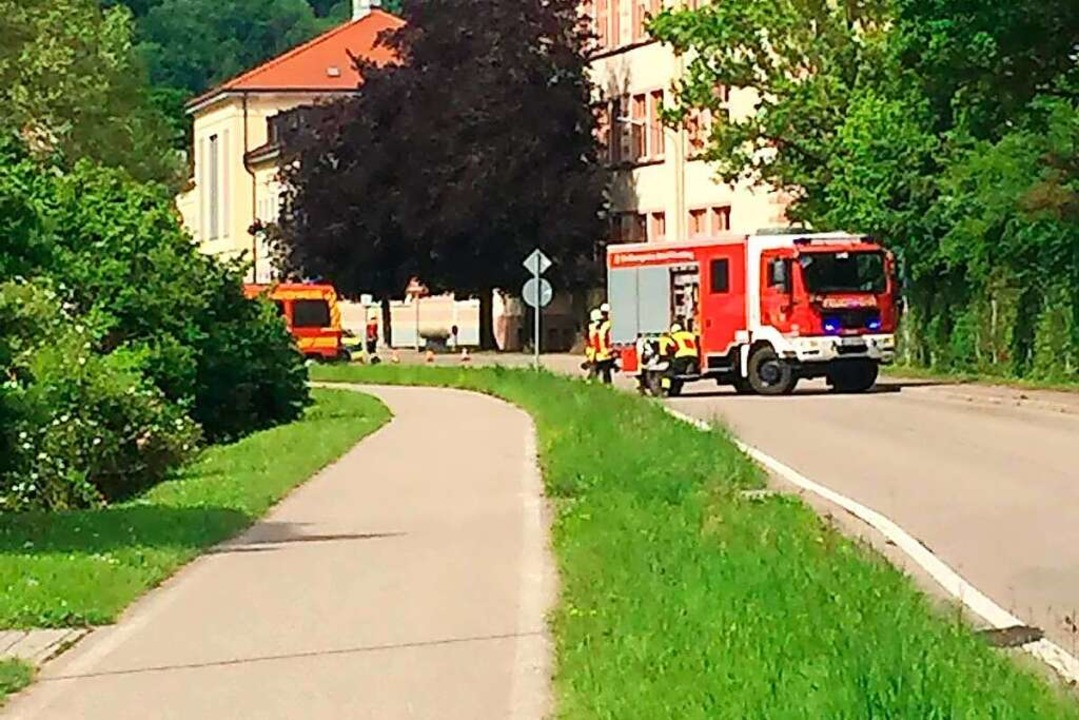 Am Mittwochnachmittag löste die Brandmeldeanlage des St. Josefshauses aus.    Foto: Julia Jacob