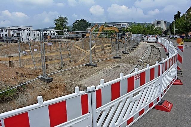 Baugrube nicht stabil