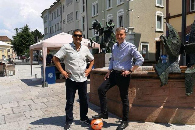EM-Auftakt: Auf dem Offenburger Lindenplatz trifft die Türkei auf Italien