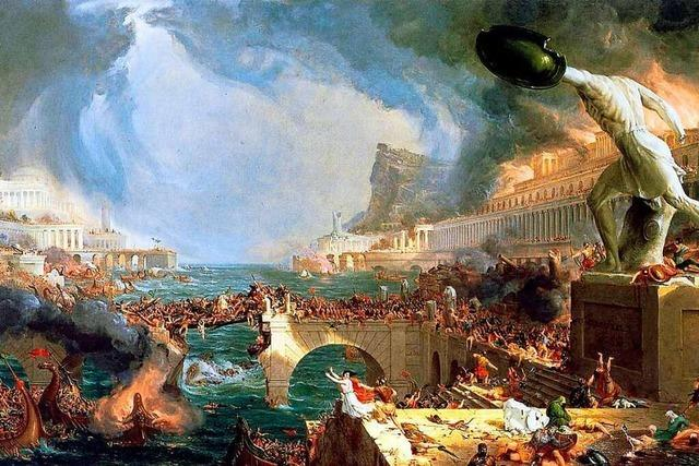 Hat das Klima dem Römischen Reich den Garaus bereitet?
