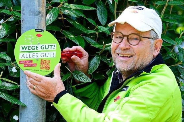 Schwarzwaldverein startet Kampagne für seine Wegearbeit