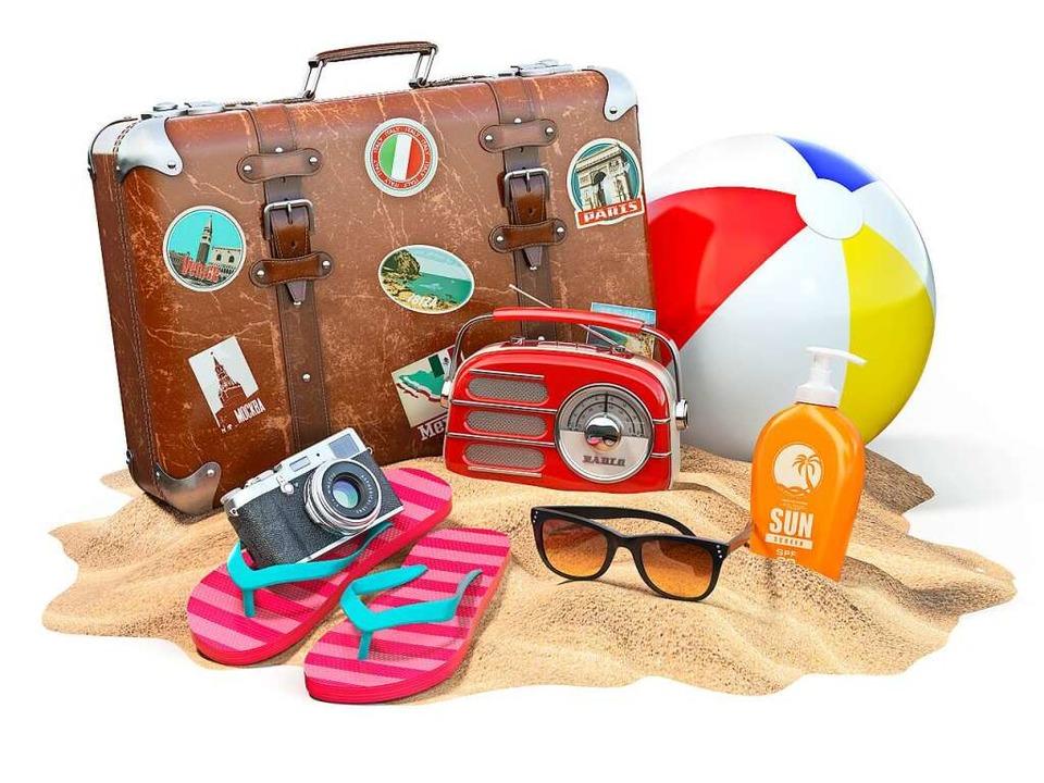 Neben Koffer und Sonnencreme gehören  ...estnachweise zu den Urlaubsutensilien.    Foto: Maksym Yemelyanov  (stock.adobe.com)