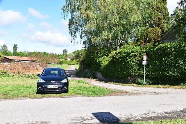 Behörden halten Straße in Burkheim für sicher