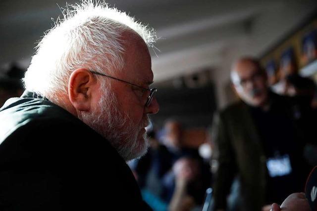 Der Papst lehnt den Rücktritt von Kardinal Marx ab