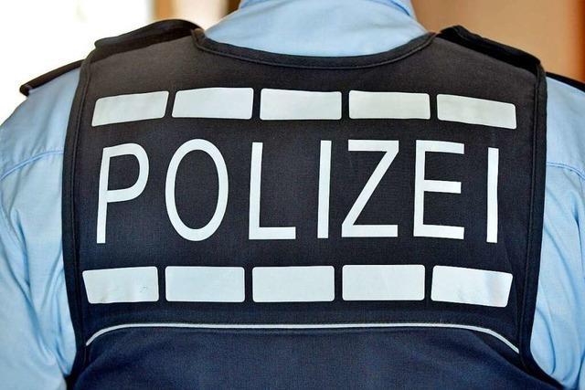 Mit Messer hantiert: Polizeieinsatz in der Lahrer Innenstadt