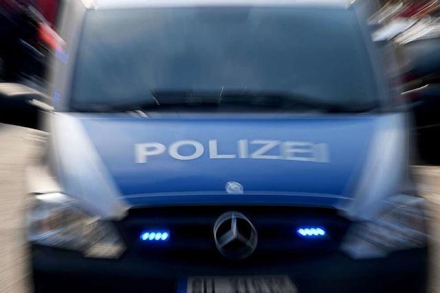 Unbekannte wollten in Bad Bellingen einen Radlader stehlen