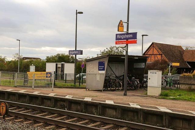 Land fördert geplanten Ausbau des Bahnhalts Ringsheim mit 277.000 Euro