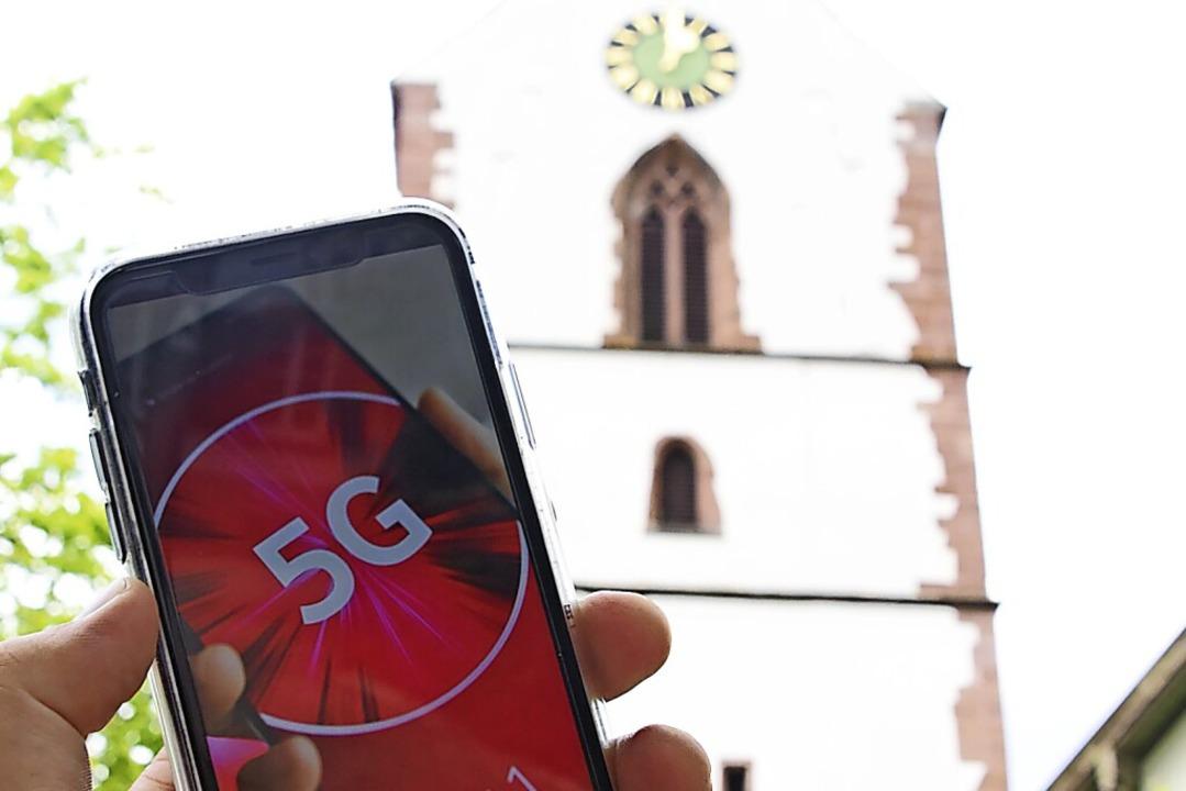 Schneller Mobilfunk auf 5G-Standard ist in Schopfheim auf dem Vormarsch.  | Foto: Nicolai Kapitz