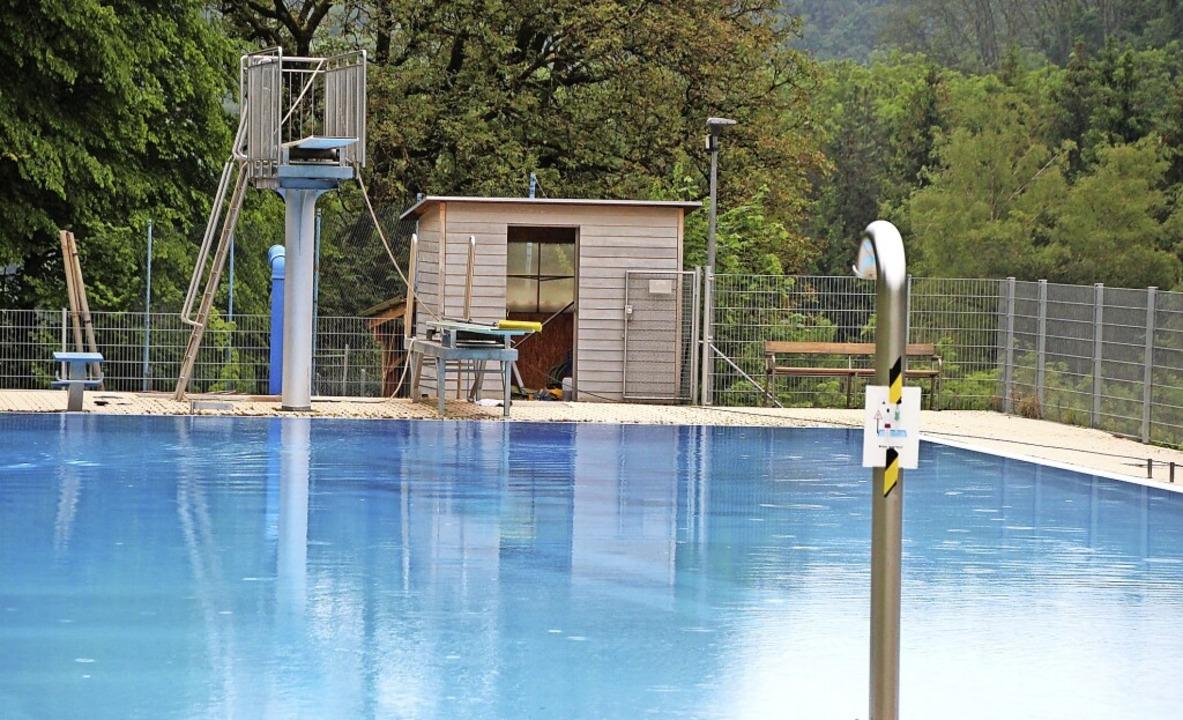 Es kann losgehen – die Schwimmfr...ung am Wochenende bestens vorbereitet.    Foto: suedkurier