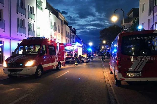 Feuer in Wohnanlage an der Müllheimer Straße in Neuenburg war Brandstiftung
