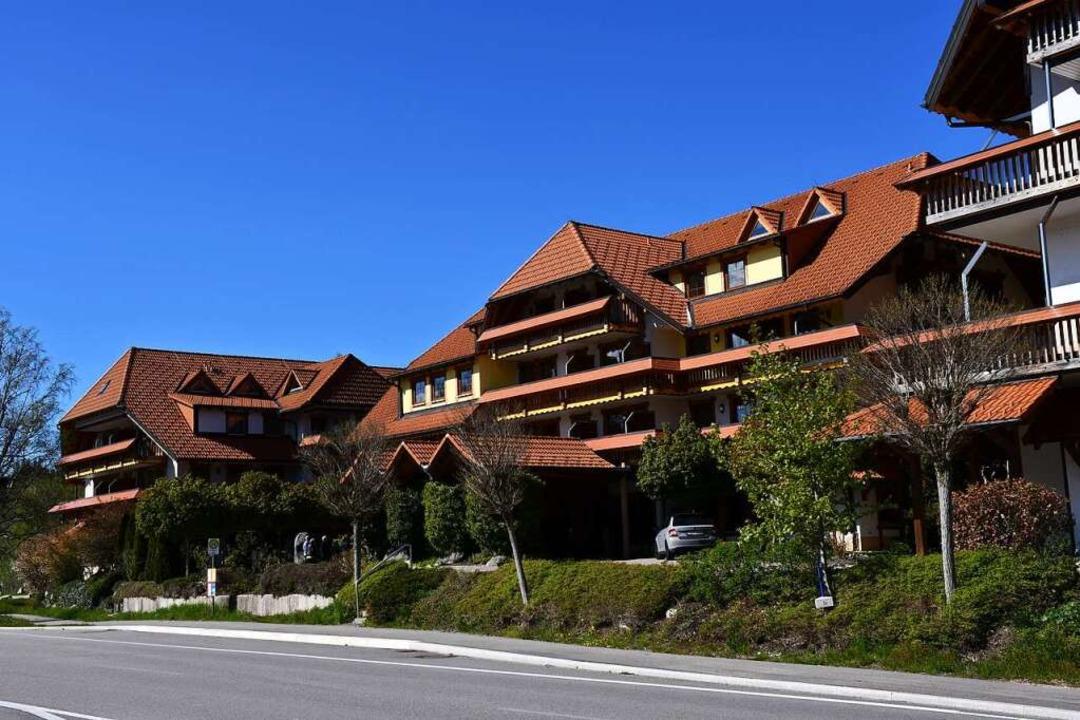 Das Wellnesshotel Auerhahn in Aha.    Foto: Tanja Bury