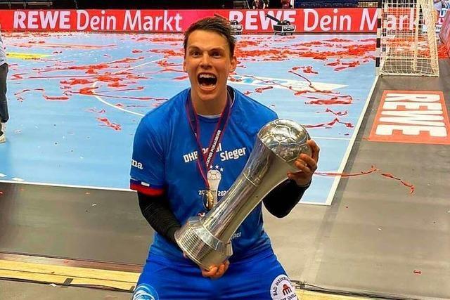 Handballer Frederik Simak über den Pokalsieg: