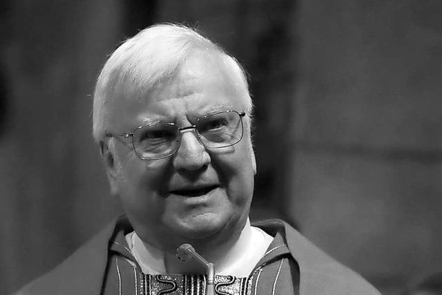 Freiburgs früherer Dompfarrer Wolfgang Gaber ist tot