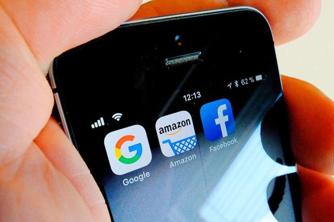 US-Digitalfirmen sollen künftig auch dort Steuern zahlen, wo ihre Kunden wohnen.  | Foto: Stefan Jaitner