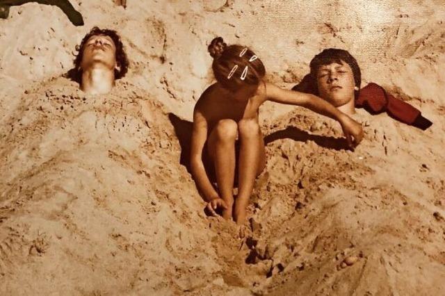Die nackte Wahrheit am Strand