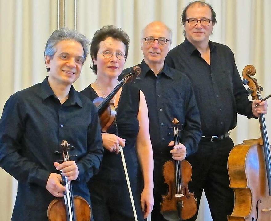 Das Segantini-Quartett tritt am 20. Juni in der Emmendinger Steinhalle auf.  | Foto: Veranstalter