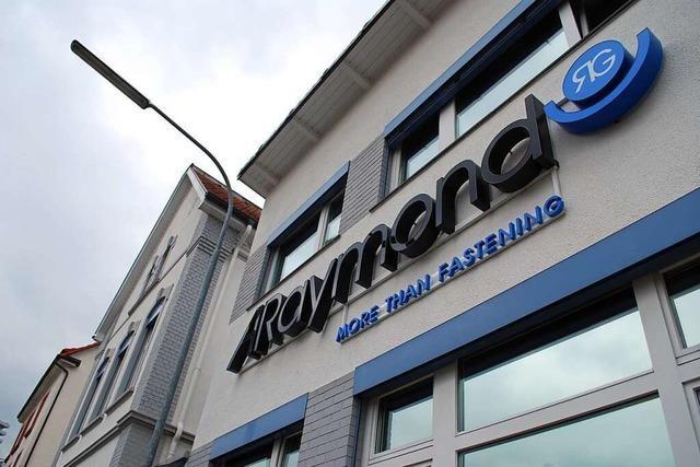 ARaymond baut seinen Unternehmenssitz in Lörrach komplett um
