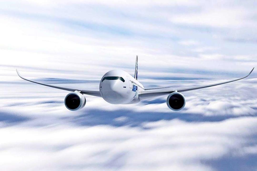 Hilft ein Verbot von Kurzstreckenflügen dem Klimaschutz?  | Foto: A2800 epa/ Airbus / Handout