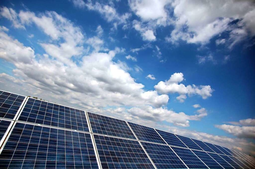 Die Solartechnik wurde massiv staatlich gefördert.  | Foto: Oliver Berg