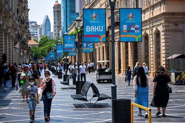Kein Spielort bei der Europameisterschaft ist so umstritten wie Baku