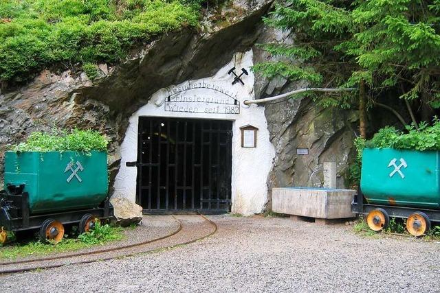 Rund um das Bergwerk Finstergrund besteht akute Ab- und Einsturzgefahr