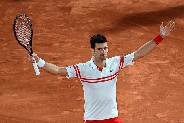 Nach Glanzleistung gegen Nadal: Djokovic will 19. Grand-Slam-Titel