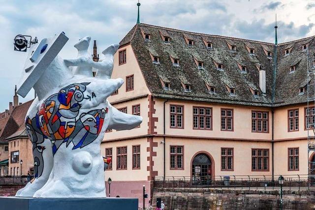 Millionenschwerer Kunst-Parcours durch Straßburg