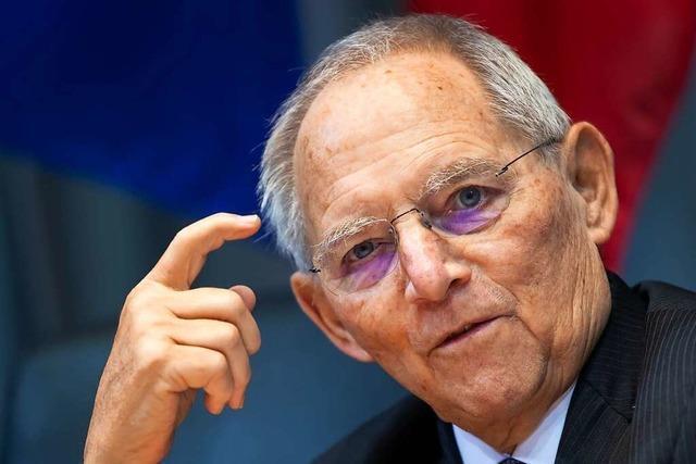 Schäuble erneut Spitzenkandidat der Südwest-CDU für Bundestagswahl