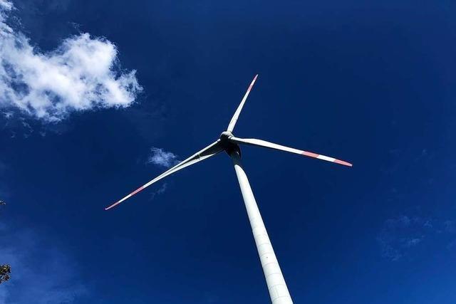 Die neuen Windräder auf dem Schnürbuck sollen Strom für 9000 Haushalte erzeugen