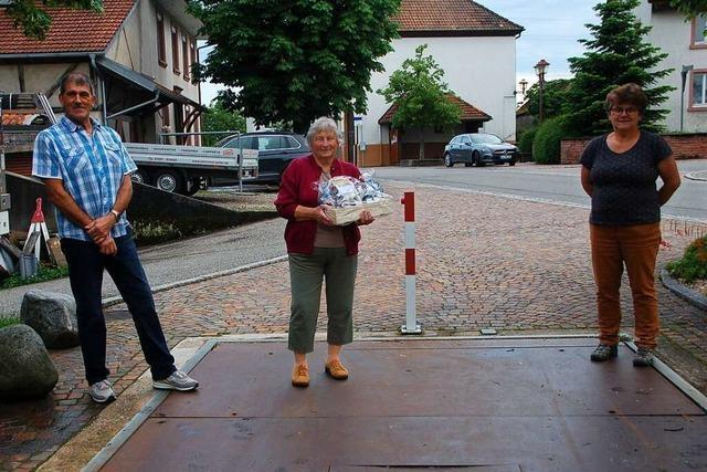 Adelhausens letzte Wiegemeisterin wird nach mehr als 50 Jahren verabschiedet