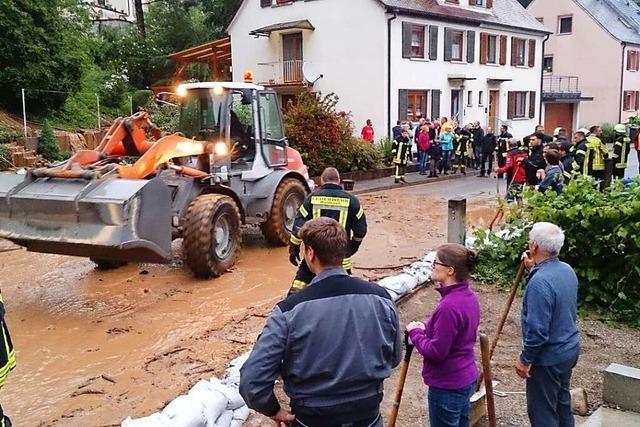 Evakuierung mit Vierlingen: Wie eine Familie den Hangrutsch in Waldkirch erlebte
