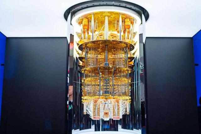 An den Quantencomputer knüpfen sich große Hoffnungen