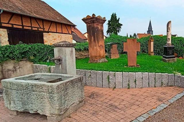 Auf dem Endinger Friedhof entsteht ein Ort für Sternenkinder