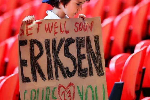 Nach dem Schock von Kopenhagen: Eriksen lächelt wieder