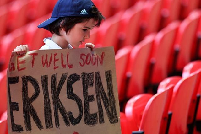 Nach dem Schock von Kopenhagen: Christian Eriksen lächelt wieder