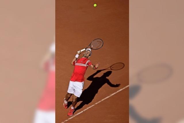 Novak Djokovic holt auf
