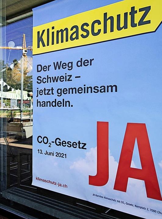 Abgelehnt: Das CO<BZ-Texttief>2</BZ-Texttief>-Gesetz  | Foto: Peter Klaunzer (dpa)