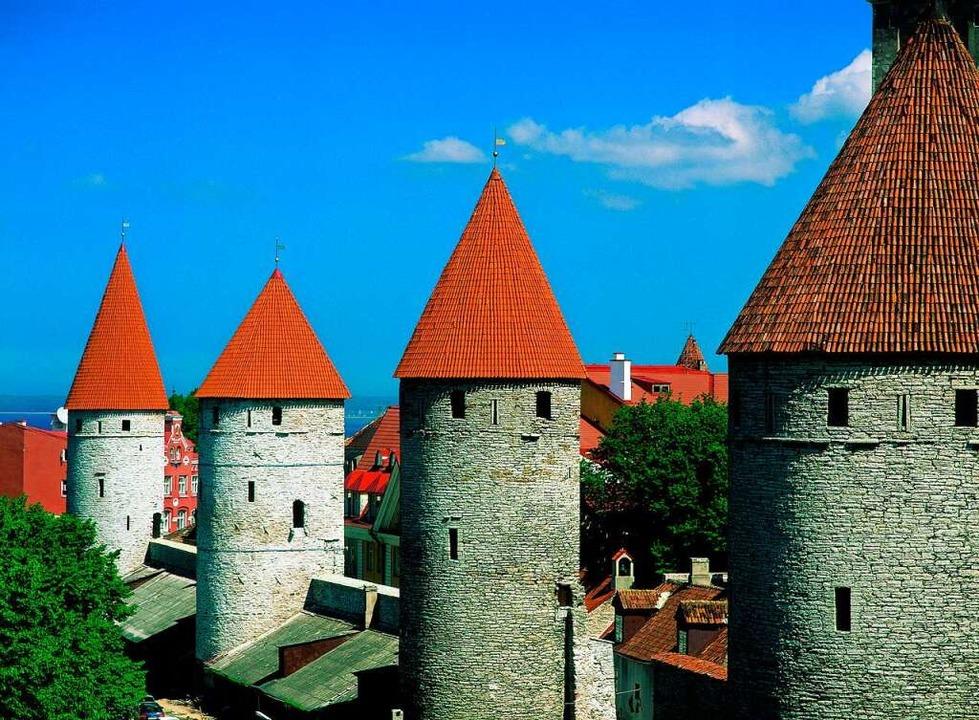 Historische Stadtbefestigung - Tallinn    Foto: Baltikum Tourismus Zentrale