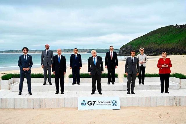 G7 versprechen Corona-Vakzine für ärmere Länder