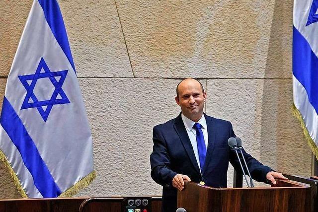 Israels Parlament stimmt für neues Regierungsbündnis