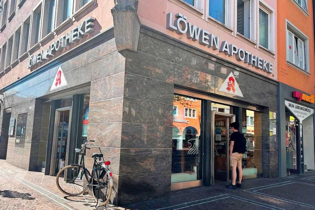 Die Löwen-Apotheke in Freiburg  | Foto: Carolin Buchheim