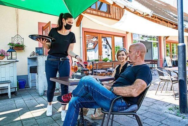 Gastronomen im Breisgau hoffen auf einen guten Sommer